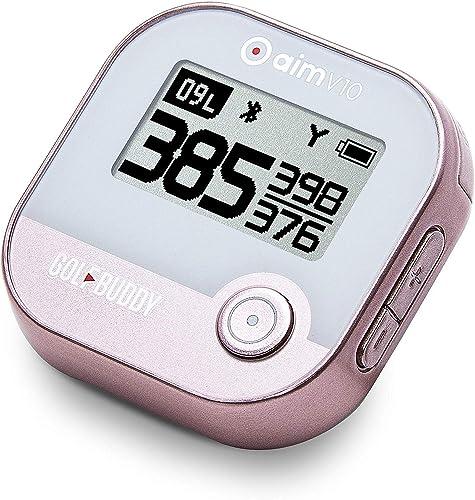 GolfBuddy Aim V10 Talking Golf GPS Rose Gold V10 GPS