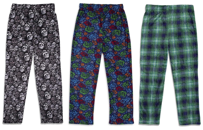 3 Pack Soft Kids Pajama Pants Sleep On It 3-Pack Boys Pajama Pants