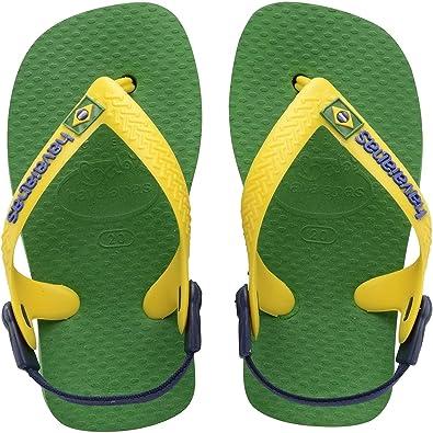 estremamente unico Buoni prezzi lussureggiante nel design Havaianas Baby Brasil Logo, Scarpe Primi Passi Unisex-Bimbi