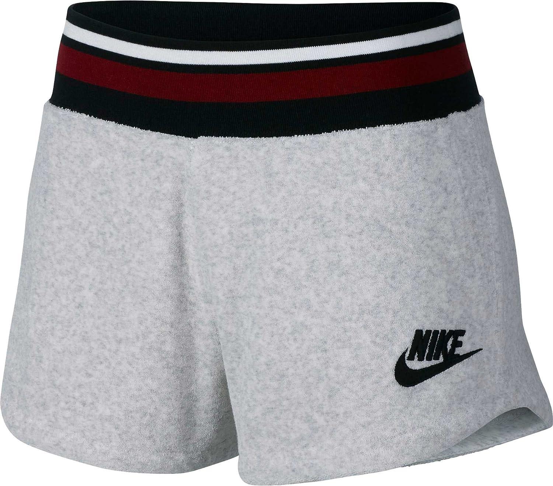 b343e2891f89b Amazon.com: Nike Women's Archive French Terry Training Shorts: Clothing