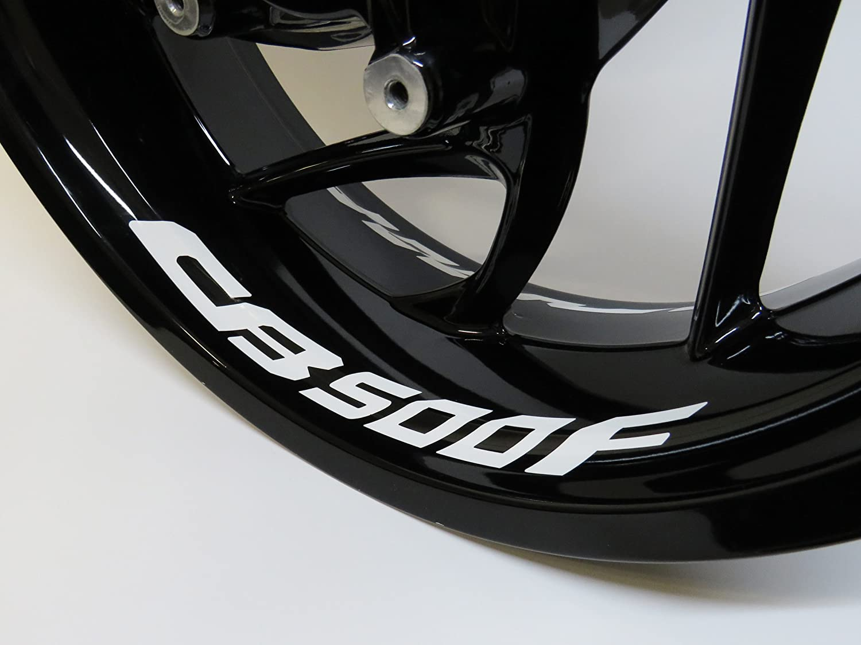 790009 Va Felgenbettaufkleber Cb 500 F 4er Set Passend Für Honda Motorrad Auto