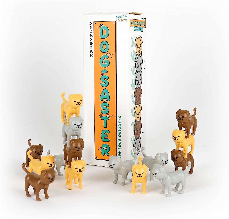 Gift Republic GR670020 Dogsaster Dog Stacking Game