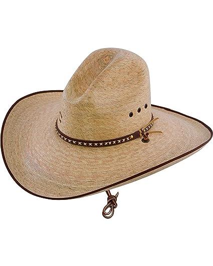 Amazon.com  Charlie 1 Horse Unisex 15X Bandito Straw Cowboy Hat ... 8ffc7545c700