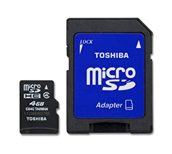 Amazon.com: Toshiba Tarjeta de memoria Micro SDHC: Computers ...