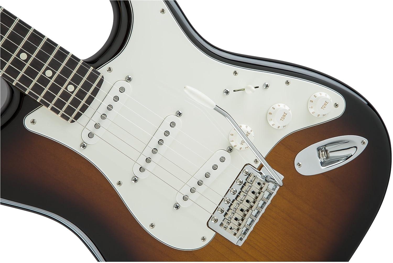 Sunburst-P Fender 0115600303 Guitarra el/éctrica de diapas/ón de palisandro americano especial Stratocaster