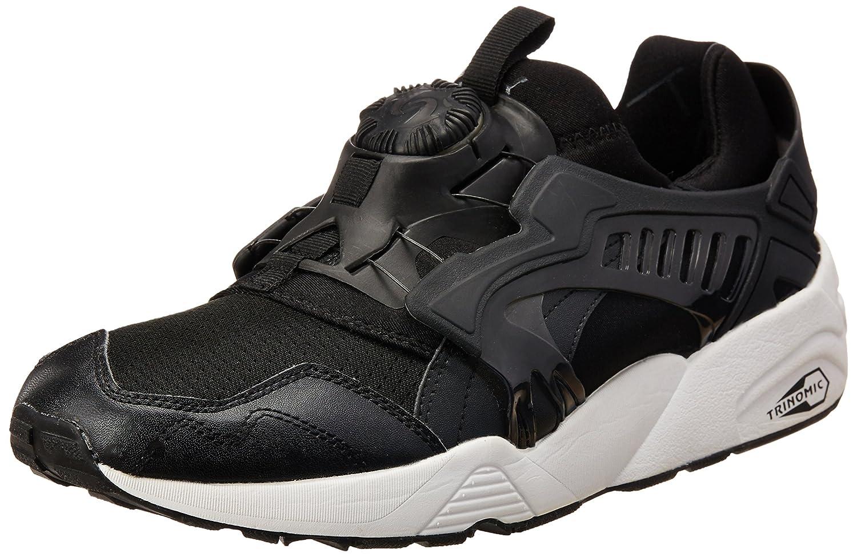 93321ecabac Puma Men s Disc Blaze-Updated Core Spec Black Sneakers - 9 UK India (43  EU)  Buy Online at Low Prices in India - Amazon.in