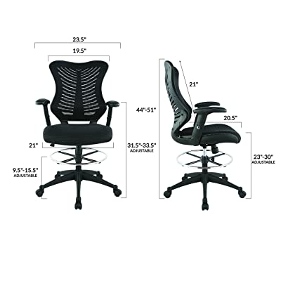 Magnificent Best Drafting Chair And Stools Of 2019 Ergonomic Drafting Evergreenethics Interior Chair Design Evergreenethicsorg