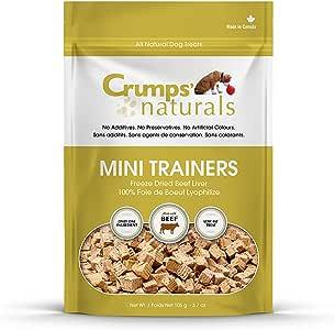 Crumps' Naturals Dog Treat - Mini Trainers