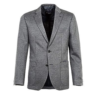 Michaelax-Fashion-Trade Benvenuto Black - Modern Fit - Herren Jersey Sakko  in modischer 5ab4319fbf