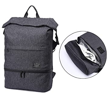 Gentil Loiee Anti Theft Backpack,Gym Sport Backpack With Shoe Storage ,Multi Function