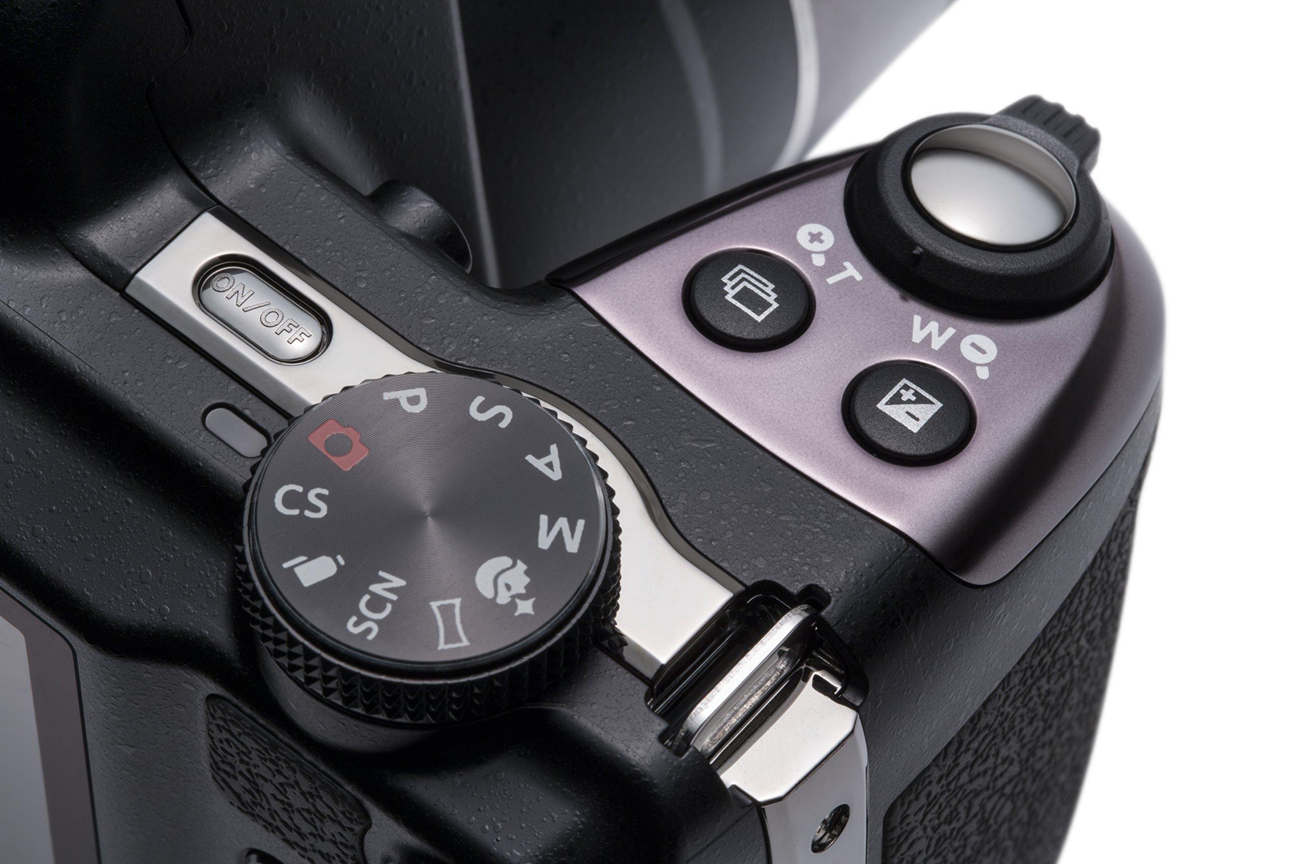 Kodak AZ521, 16MP Camera with 52x Optical Zoom, 3'' LCD Screen, 1080p Video Recording - Black