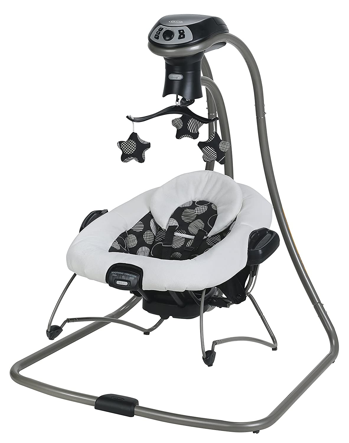 Graco DuetConnect LX Swing and Portable Bouncer with Multi-Direction, Milan 2015 2013554