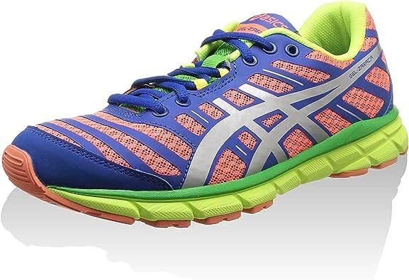 Asics Zapatillas Deportivas Running Gel Zaraca 2 Coral/Plata/Azul EU 39.5 (US 6.5): Amazon.es: Zapatos y complementos