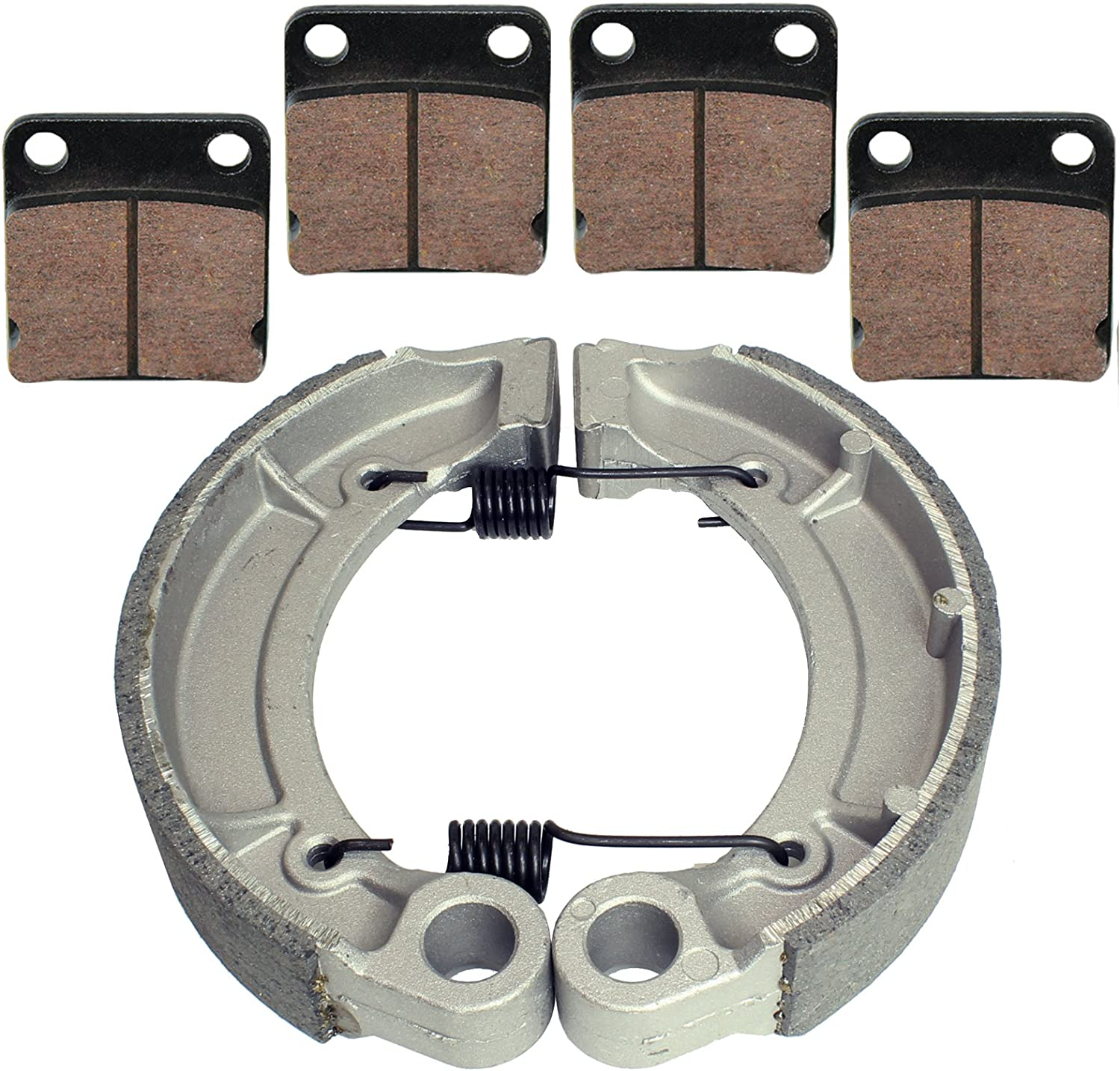 Brake Pads /& Brake Shoes fits Yamaha Grizzly 350 YFM350 2007-2014 Front and Rear