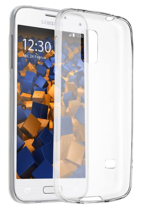 Mumbi - Ultraslim Funda para Samsung Galaxy S5 Mini Carcasa ...