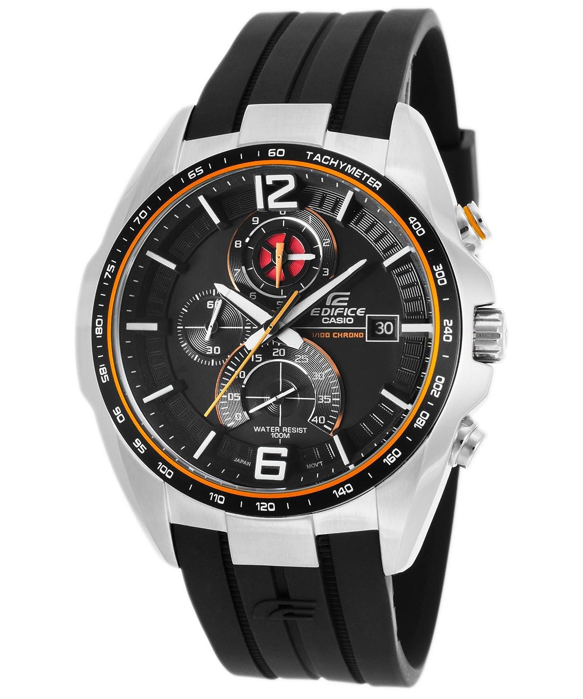 Casio Malla Me Up Edifice Cuarzo: Batería JAPAN Reloj (Modelo de Asia) EFR- 528-1A: Amazon.es: Relojes