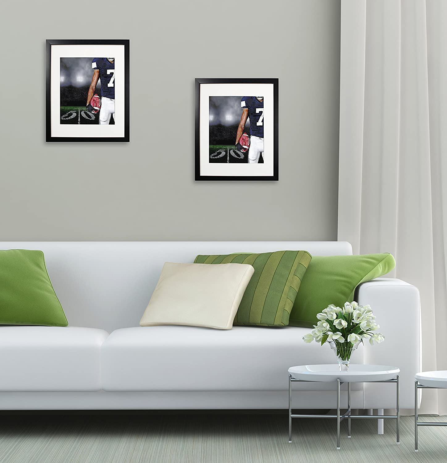 8.5x11 inch Black Picture Document Frame Made to Display Pictures or Certificate 8.5x11 Without Mat 2 Pack One Set for Wall /& Tabletop Chirstmas Holiday Home Gift