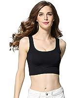 CUNLIN Summer Sexy Crop Top Bandage Workout Women Slim Sleeveless Fitness Tank Top