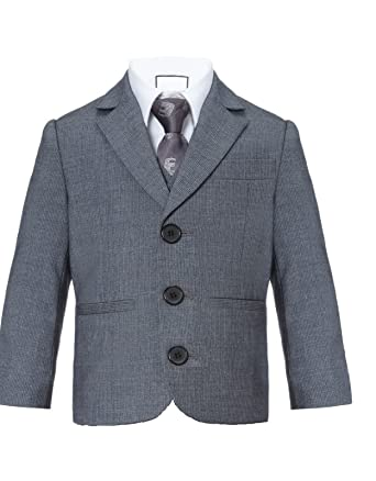 edel Grau Jacke festliche Blazer eleganter SakkoGr. 86