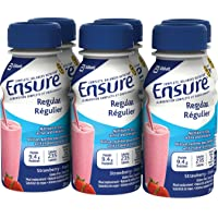 Ensure Regular Strawberry, 235mL Bottle, 6-Pack