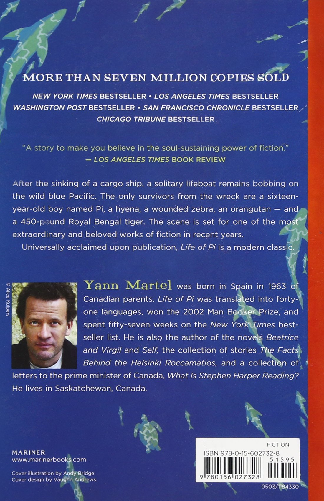 Amazon.com: Life of Pi (9780156027328): Yann Martel: Books