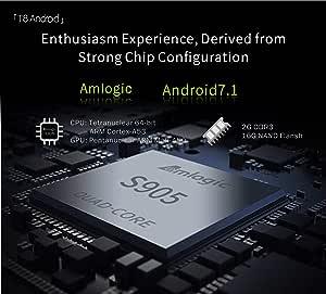 Amyove Proyector Inteligente T8 Home HD 1080P Mini proyector ...