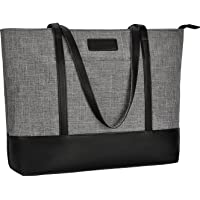 Laptop Tote Bag,Fits 15.6-17 Inch Laptop,Womens Lightweight Water Resistant Nylon Tote Bag Shoulder Bag Messenger Bag