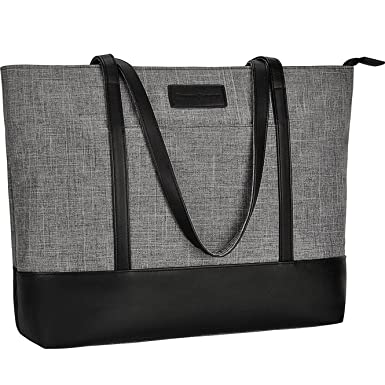 Laptop Tote Bag,Fits 15.6 Inch Laptop,Womens Lightweight Water Resistant  Nylon Tote Bag be3b13ec4e