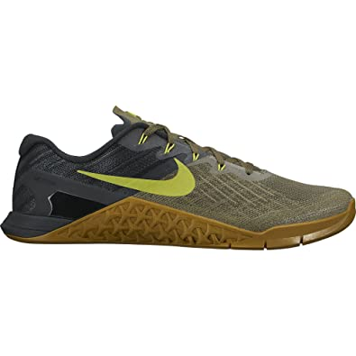 Nike Men s Metcon 3 Training Shoe BLACK/VOLT HYPER CRIMSON HOT PUNCH 13.0
