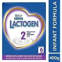 Nestlé LACTOGEN 2 Follow-Up Formula Powder - After 6 months, Stage 2, 400g BIB Pack