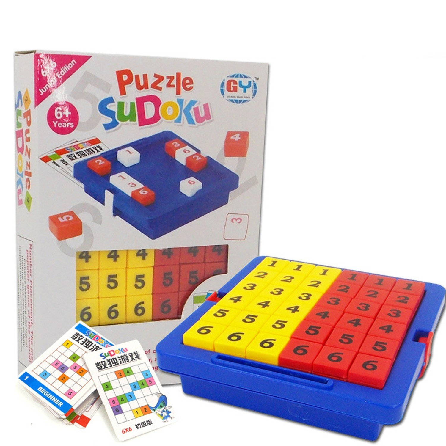 Primary Sudoku Cube Number Game Puzzles Table Learning Educational Toys Toy For Children Adult Logical Thinking