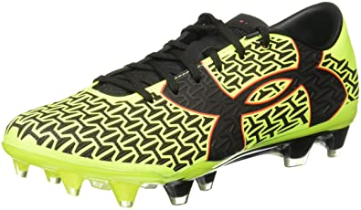 new style 01285 62de4 Under Armour Men s UA Corespeed Force 2.0 FG High-Vis Yellow Rocket Red