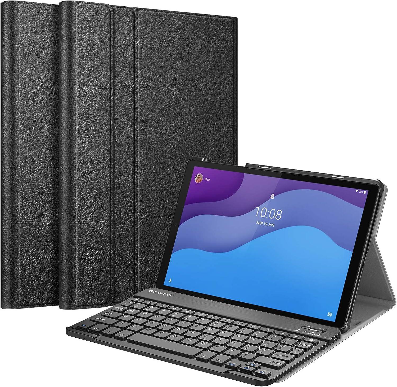 Fintie Keyboard Case for Lenovo Tab M10 HD 2nd Gen (TB-X306X)/Smart Tab M10 HD 2nd Gen (TB-X306F) 10.1