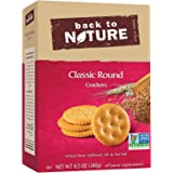 Back to Nature Non GMO, Classic Round Crackers, 8.5 ounce