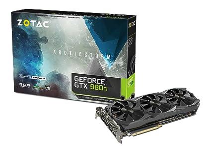 Zotac GeForce GTX 980 Ti - Tarjeta gráfica de 6 GB (PCI-Express ...
