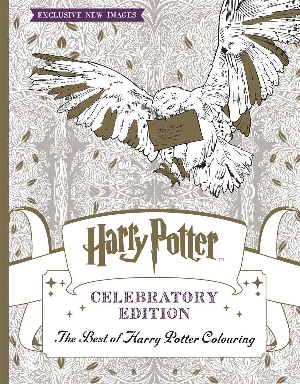 Harry Potter Colouring Book Celebratory Edition The Best Of Harry
