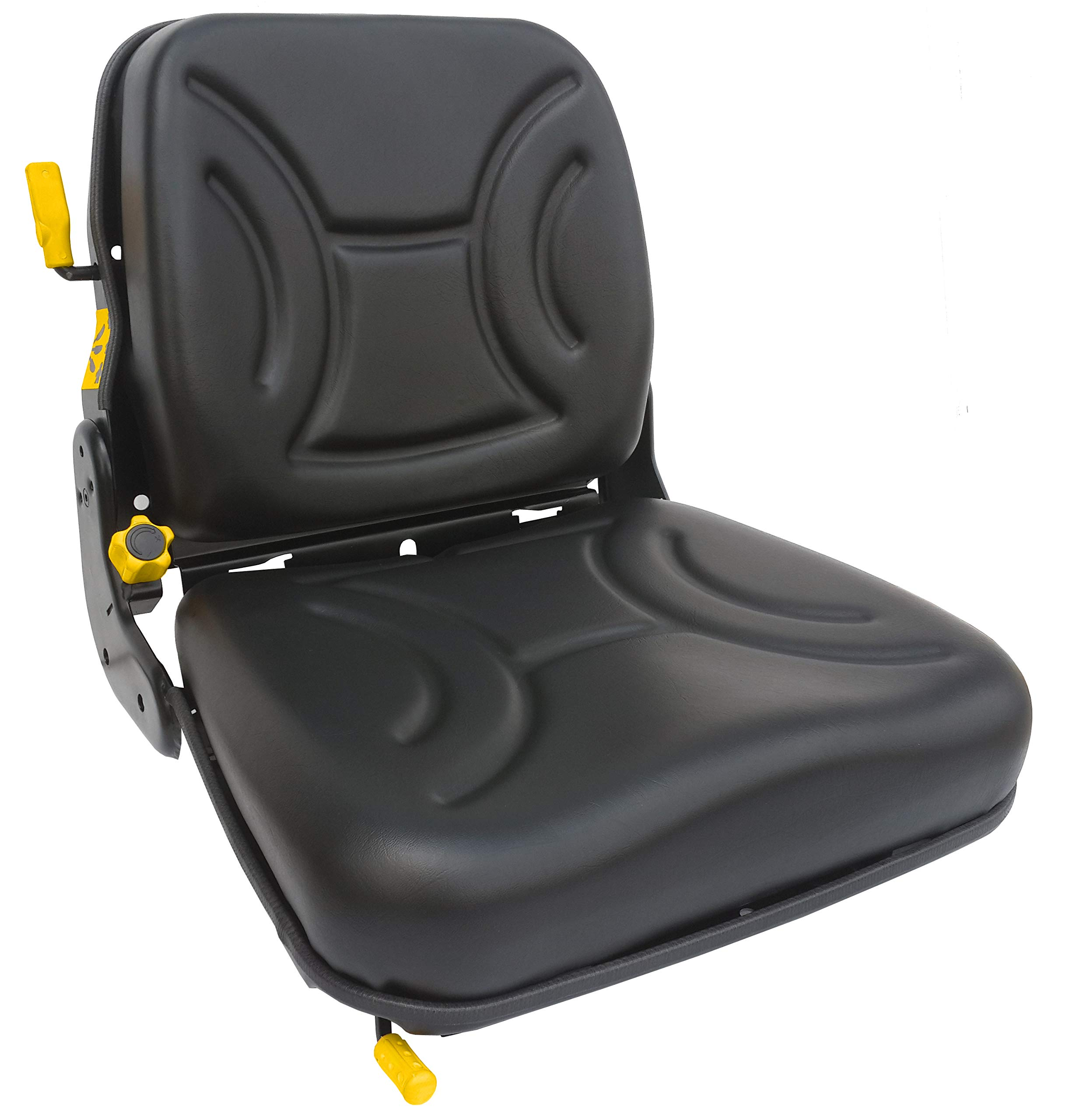Star STplus FS12 Backrest Suspension Seat (for Forklifts & Special Vehicles with Weight Adjustment & Built in Operator Presence Switch)