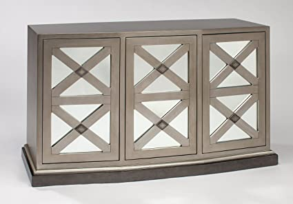 Artmax Furniture 4488 S Cabinet Mirror Accent