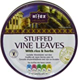 Al'fez Stuffed Vine Leaves with Rice and Herbs 280 g (Pack of 6)