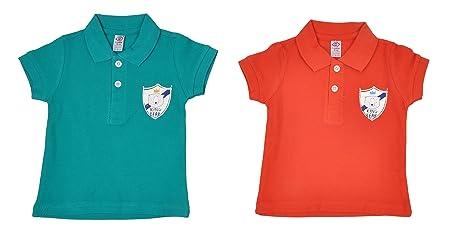 c89b5daa5 Zero Baby Boys Polo Tshirt (Pack of 2)   100% Premium Cotton   Ideal ...