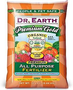 Dr. Earth Premium Gold All Purpose Fertilizer 12 lb