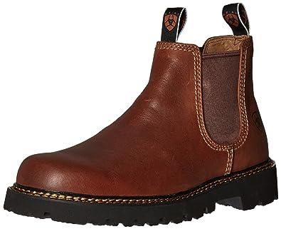 e7b8f6e5f162 ARIAT Men s Spot Hog Boot Peanut Size 7 ...