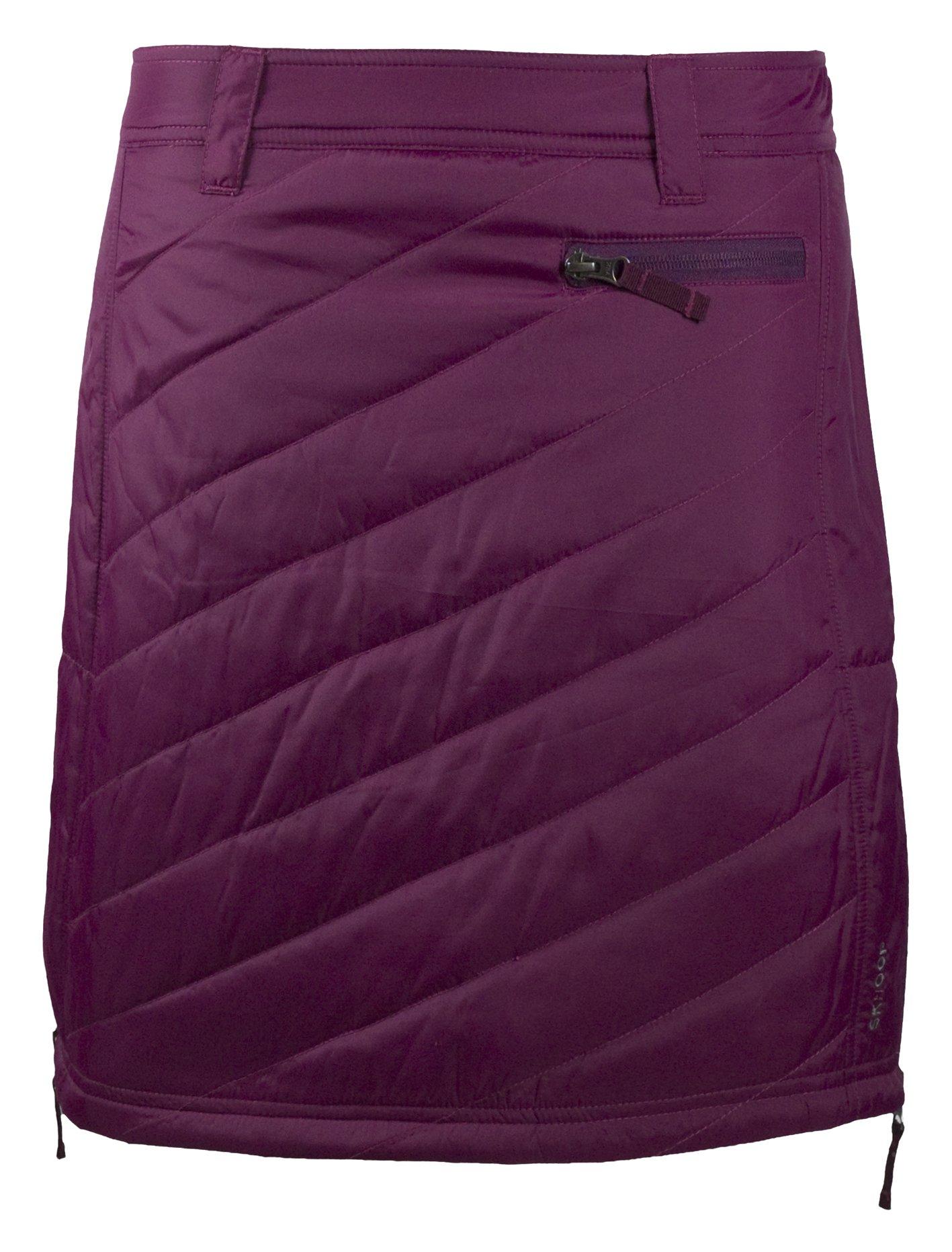Skhoop Sandy Short Skirt, Bordeaux, X-Large