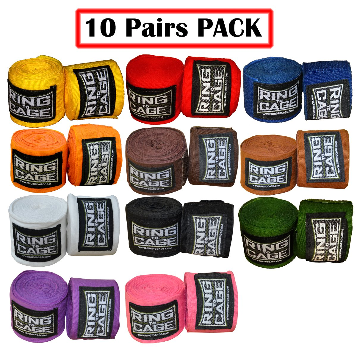 MexicanストレッチHandwraps 180 B00JHQ710A