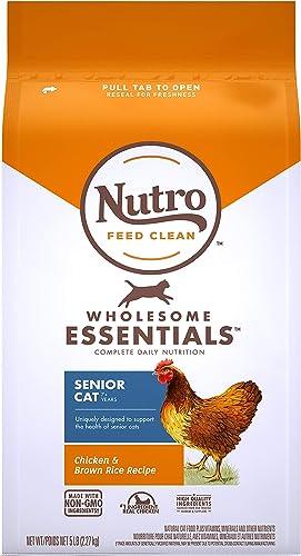 Nutro Wholesome Essentials Adult Senior Dry Cat Food, Chicken