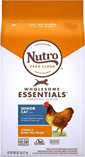 product image for Nutro Wholesome Essentials Adult & Senior Dry Cat Food, Chicken