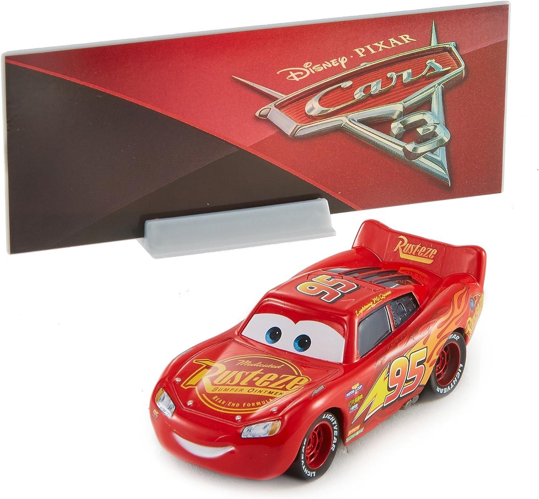 Mattel - Hot Wheels DXV29. Cars 3. Rayo Mcqueen.: Amazon.es: Juguetes y juegos