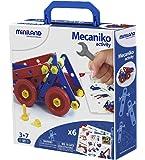 Miniland - Mecaniko, juego de construcción,, 74 piezas, multicolor (32651)