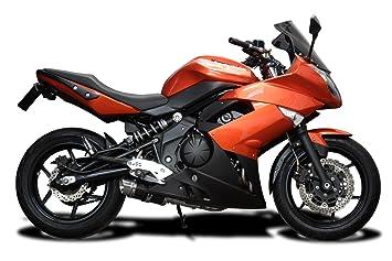 Delkevic Aftermarket Slip On compatible with Kawasaki Ninja 650 Versys 650 & ER-6N Mini 8