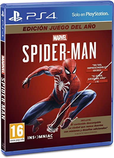 Oferta amazon: Marvel's Spider-Man (PS4) Game of the Year Edition (GOTY)